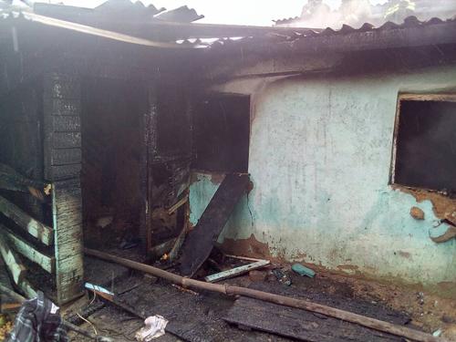 ВОрске напепелище пожарные обнаружили труп мужчины