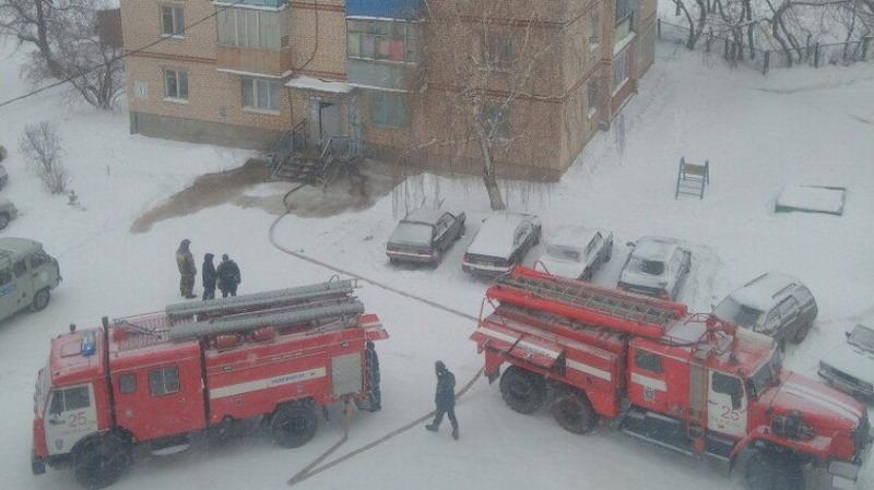 ВБугуруслане изпожара спасли человека