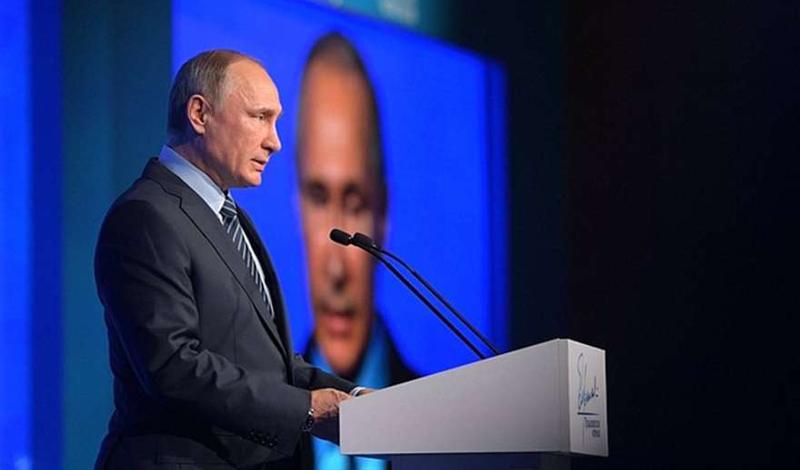 Путин: Достигнутая стабильность Российской Федерации недолжна привести ксамоуспокоенности