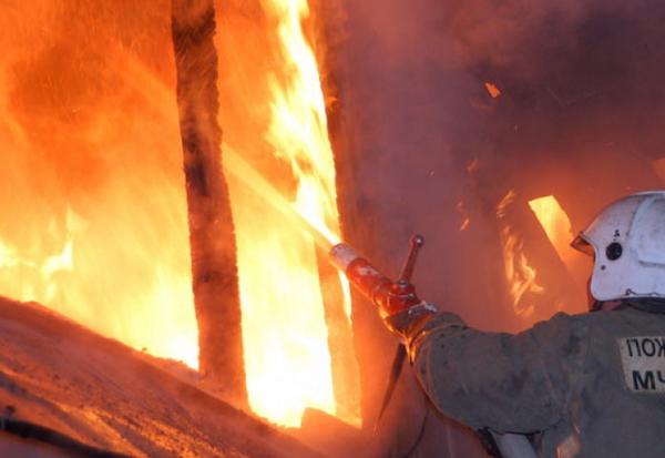 ВАсекеевском районе напожаре 81-летняя бабушка бросила впламени внука