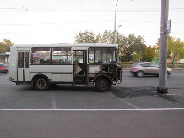 Шофёр автобуса ПАЗ протаранил опору ЛЭП— ДТП вОренбурге
