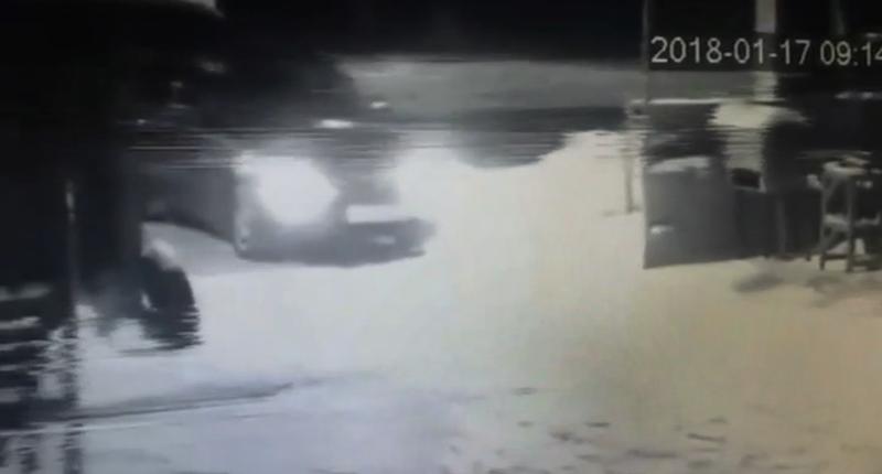Появилось видео смашиной убийц бизнесмена иего сына вОренбурге