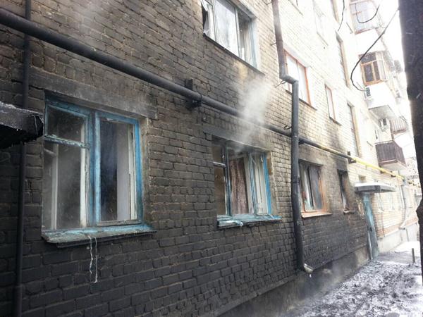 ВГае вмногоквартирном доме произошел взрыв. Несколько человек пострадали