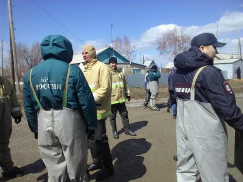 Впоселке Целинный 116 человек оказались взоне затопления