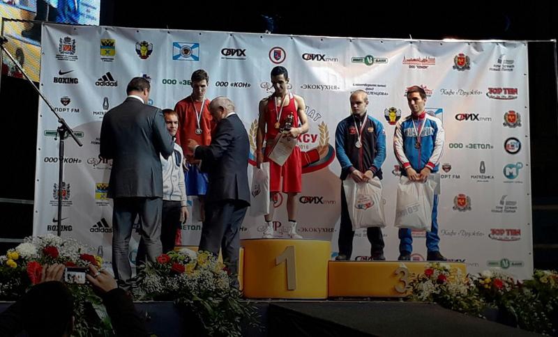 Оренбургский боксер стал чемпионом Российской Федерации