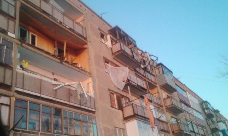 СК: предпосылкой взрыва впятиэтажке вНоворудном стал поджог