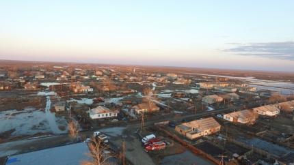 48 дворов затопило впоселке Целинный Светлинского района