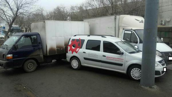 Два человека достаточно серьезно пострадали вчудовищном ДТП вОренбурге