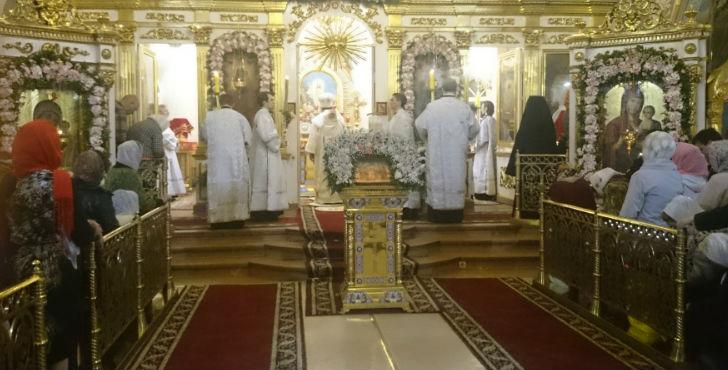 Неменее 3 тыс. колымчан приняли участие вПасхальном Богослужении