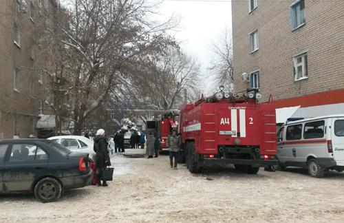 ВОренбурге в многоэтажном высотном доме произошел пожар