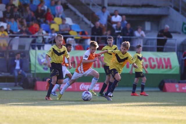 Оренбургская команда «Стрела» стала чемпионом интернационального футбольного турнира «Кожаный мяч»