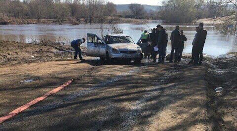 Машину пропавшего таксиста изБузулука отыскали вреке