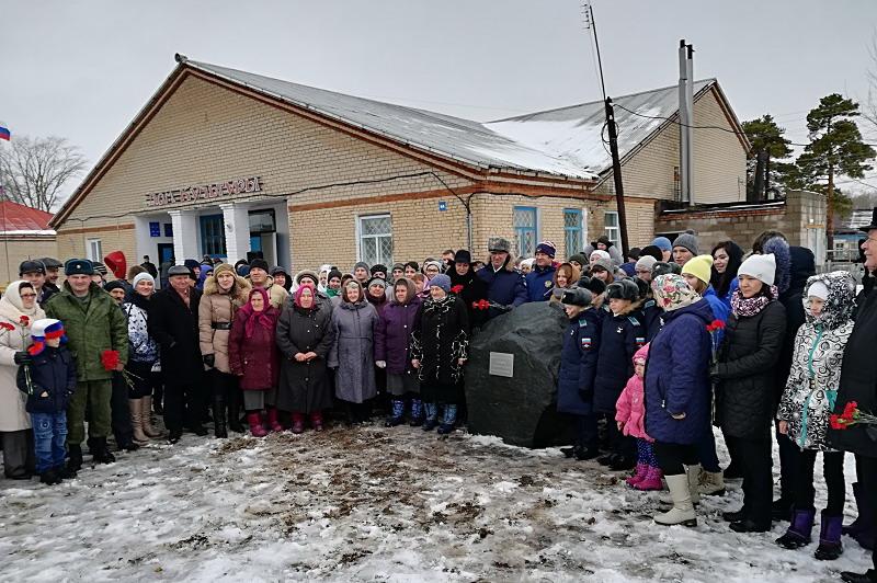 ВОренбуржье на отчизне Александра Прохоренко возникла аллея Героев