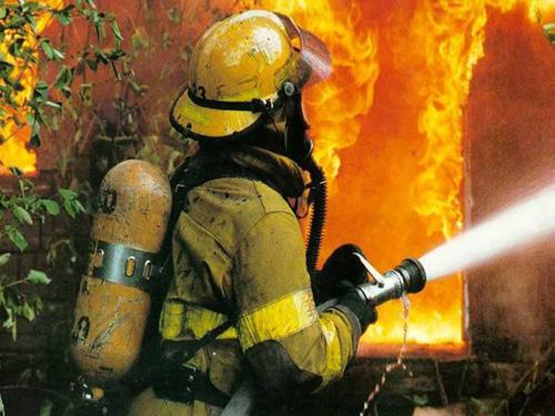 Вкрупном пожаре вНовосергиевке погибли два человека
