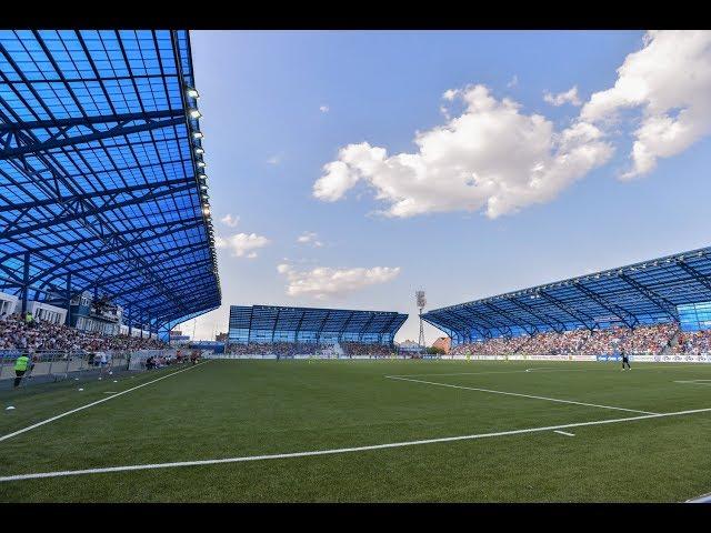 ФК «Оренбург» продемонстрировал проект нового стадиона