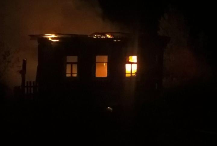 ВБугурусланском районе вовремя пожара умер пенсионер