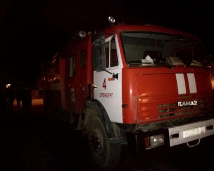 12 человек спасены вовремя пожара впятиэтажном доме Оренбурга