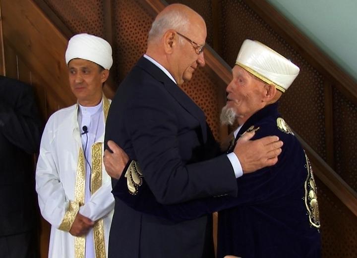 Поздравление руководителя города Махачкалы Мусы Мусаева спраздником Курбан-байрам
