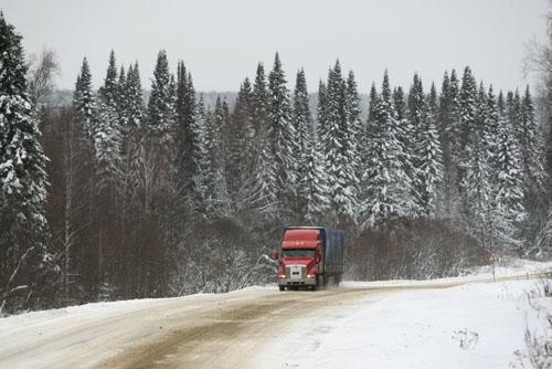 Русские водители-дальнобойщики будут сдавать специальный экзамен