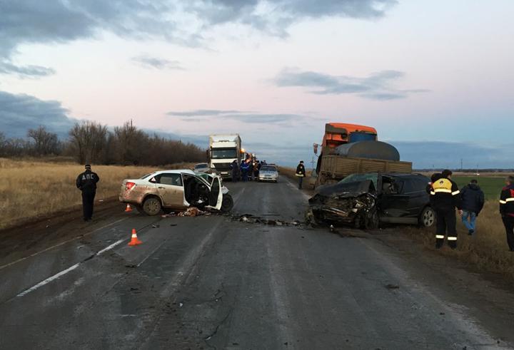 ВДТП наоренбургской трассе погибли два человека