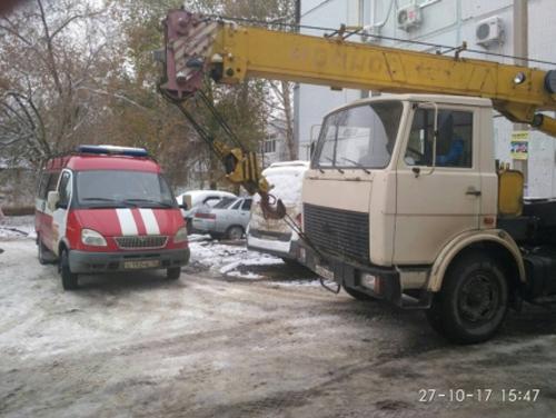 ВОренбурге на дорогах Березка иКосмическая без тепла остались 4 дома