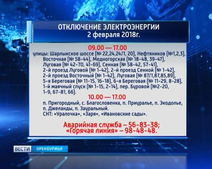 Программа телепередач на первом оренбург