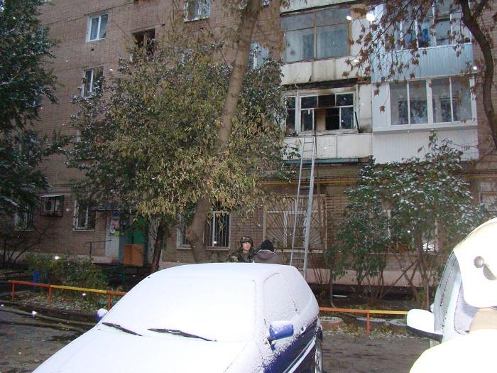 ВОренбурге напожаре погибла женщина ипострадал мужчина