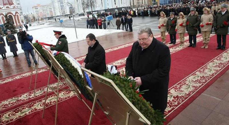 Близкие Александра Прохоренко представили Оренбуржье наДне Героев Отечества вСаранске