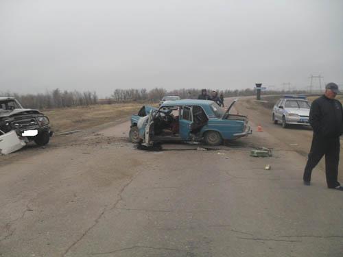ВНовоорском районе вДТП погибли два пассажира
