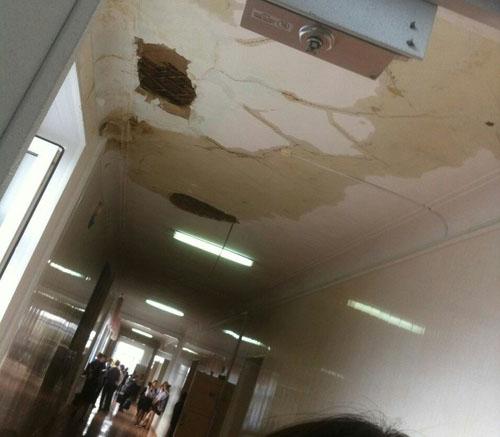 Обрушения воренбургской гимназии: генпрокуратура проводит проверку