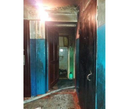 Ночной пожар вОренбурге тушили 16 человек