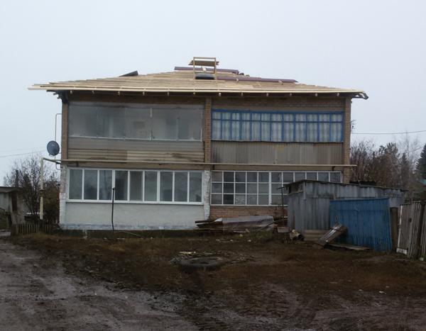 Вестирама.ру - а полухин проверил ремонт крыши 151117.